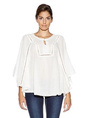 Vero Moda Blusa Con Vuelo (Blanco)