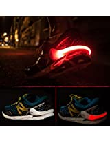 Uniek Deals Original React LED Shoe Clip Premium Quality Safety Light For Running Cycling, Walking, Jogging, Horse Riding & all outdoor Sports 3 Mode- Set of 2