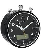 Seiko QHE114KLH Bedside Alarm Japanese Quartz Clock