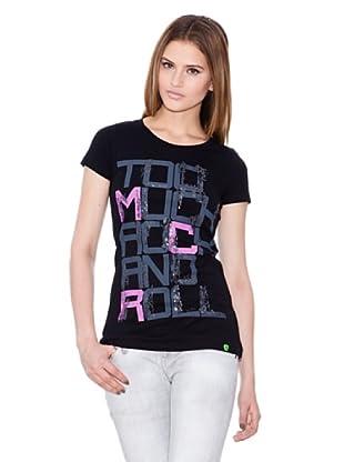 Gio Goi Camiseta Thrash (negro)