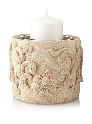 Florero Sandstone Vase/Candleholder, Short