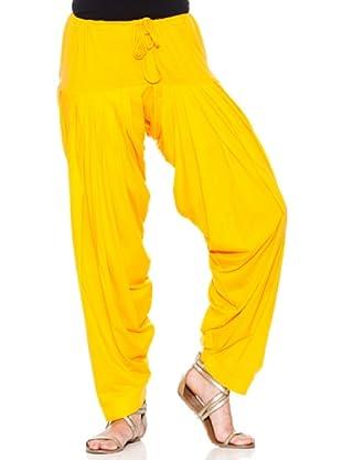 Mahal Pantalón Liso (Amarillo)