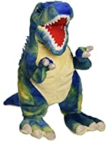 "Fiesta Toys T Rex With Picture Ht Plush, 15"", Blue By Fiesta Toys"