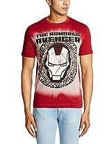 Marvel Men's Cotton Round Neck T-Shirt