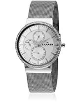 357XLSSS Silver/Silver Analog Watch Skagen