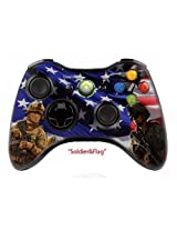 Xbox 360 Modded Controller (U.S Army Skin) With Inbuilt Central Leds/10 Modes Of Rapid Fire And Super Quick Scope