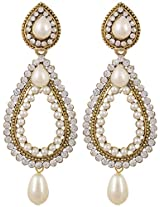Jeet Gold Plated Dangle And Drop Earrings For Women (ER 002)