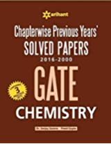 Chapterwise GATE Chemistry Solved Papers (2016-2000)