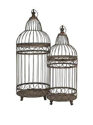 Set of 2 Verona Bird Cages