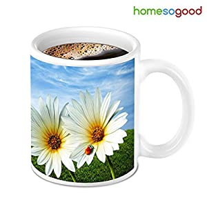 HomeSoGood New Day Fresh Beginning With Coffee Mug
