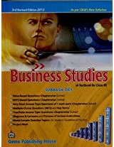 Business Studies: A Textbook for Class XI