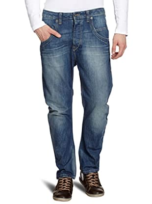 MUSTANG Jeans Pantalón vaquero Niedriger Bund (Azul)