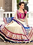 Embroidered Heavy 3 Pcs Wedding Bridal Lehenga Cho