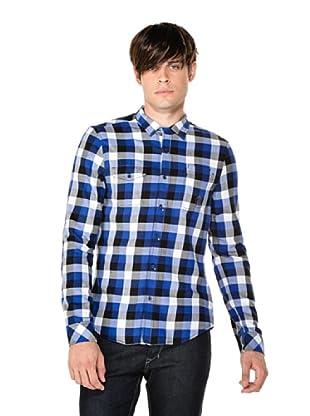 Diesel Camisa Swolu (Azul)