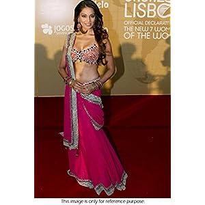 Ninecolours LD0280048 Bipasha Basu Lehenga - Pink