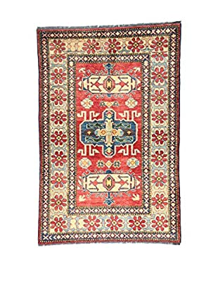 Eden Teppich Uzebekistan mehrfarbig 103 x 158 cm