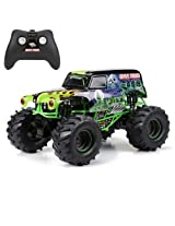 New Bright F/F 9.6V Monster Jam Grave Digger RC Car (1:10 Scale)