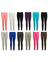Varanasi Enterprises Multicolor Cotton Leggings--*Available in many colors