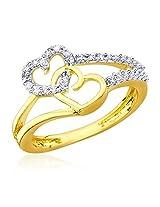 Cuzibox Enchanting White Colored Brass Women's Rings