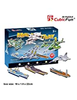 "CubicFun 3D Puzzle S-Series ""Mini Military 1"""