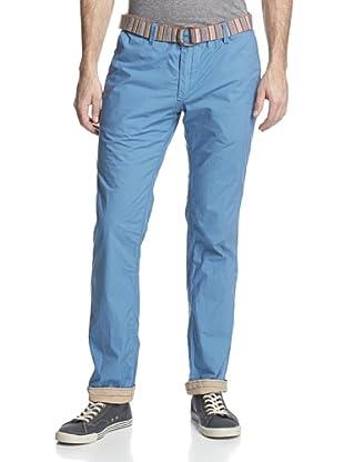 Jet Lag Men's MO-13 Washed Reversible Pant (Light Blue)