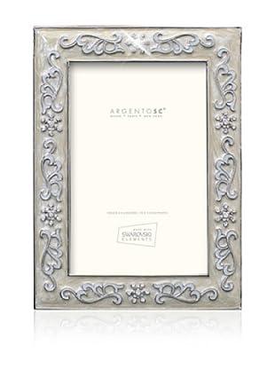 Swarovski by Argento SC Precious Picture Frame, Ivory, 4