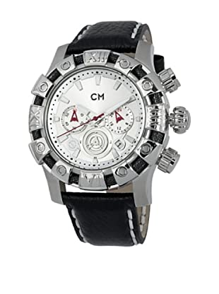 Carlo Monti Herren ChronographXL Arezzo Chronograph Quarz Leder CM122 112