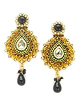 Orne Jewels Gold-Plated Dangle & Drop Women Gold