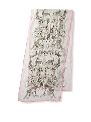 Ted Baker Women's Safaria Silk Scarf, Shell, One Size
