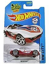Mattel Hot Wheels - 2014 Hw City 12/250 - Hw Goal - Yur So Fast