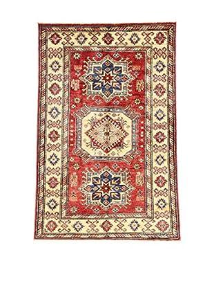 Eden Teppich   Kazak Super 100X149 mehrfarbig