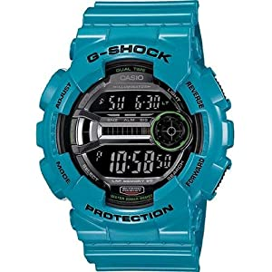 Casio G-Shock Gloss Blue Mens Watch GD110-2CR