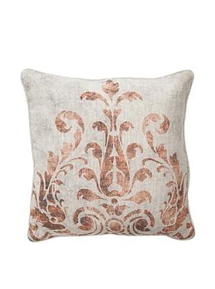 Villa Home Fern Pillow, Rust