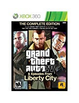 Grand Theft Auto IV Complete Edition - Xbox 360