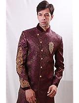 Bodyline Purple Men Kurta Pyjama RK1072