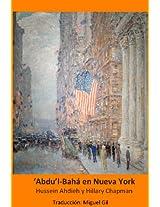 'Abdu'l--Bahá en Nueva York