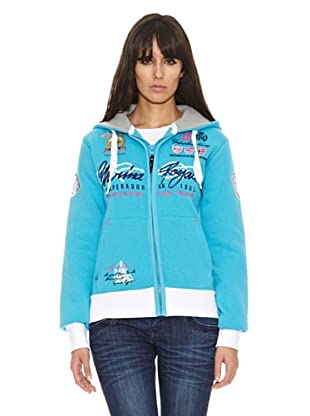 Geographical Norway Chaqueta Gelateria (Turquesa)