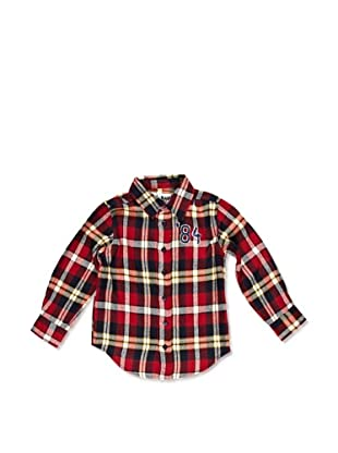 Desigual Camisa Diagonal (Rojo Tierra)