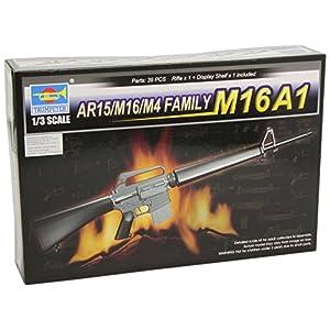 Trumpeter 1/3 AR15/M16/M4 Family M16A1 Machine Gun