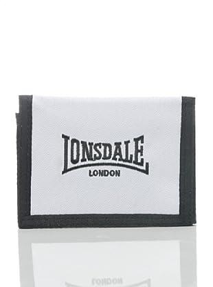 Lonsdale Portafoglio Bedford (Bianco/Nero)