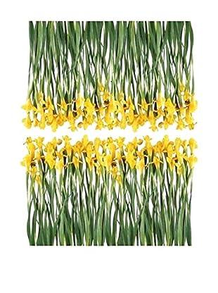 Ambiance Live Wandtattoo Iris Flowers mehrfarbig