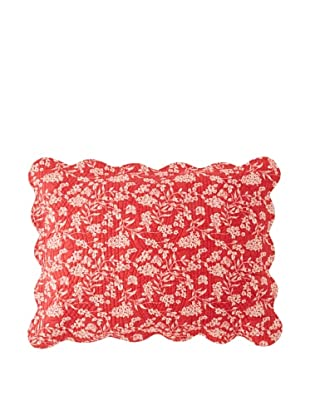 Toile Pillow Sham (Red)