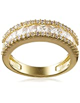 Shaze Ring for Women (Gold) (FLASH BAND GOLD 7076:7)