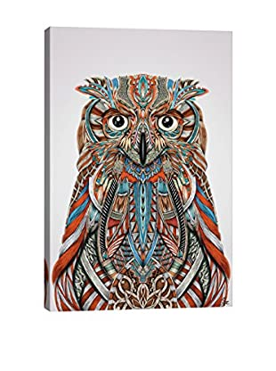 Giulio Rossi Eagle Owl Canvas Print