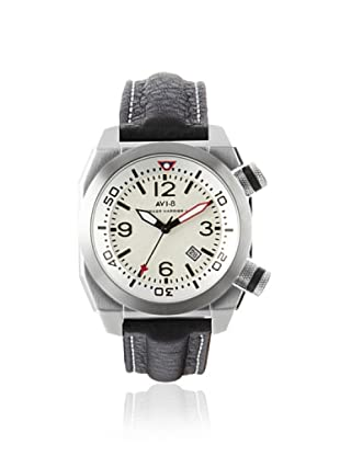 AVI-8 Men's 4005-01 Hawker Harrier II Black/White Stainless Steel Watch