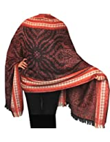Wool Indian Scarves and Wraps Womens Gift (78 x 28 inches)