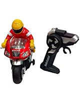 Funny Bunny Crazy Moto Super Circumgyrate R/C Bike Toy Gift For Kids