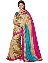 Tagbury Raw Silk Beautiful Saree (Tsr1312-Beige)