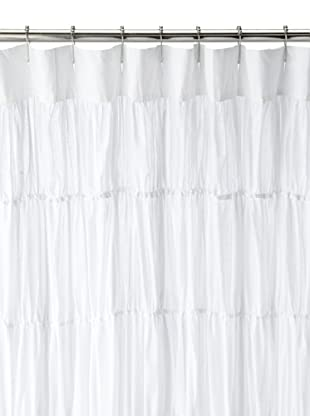 Amity Home Reann Shower Curtain, White, 72