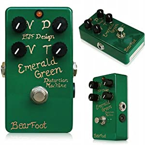 BearFoot Emerald Green Distortion Machine